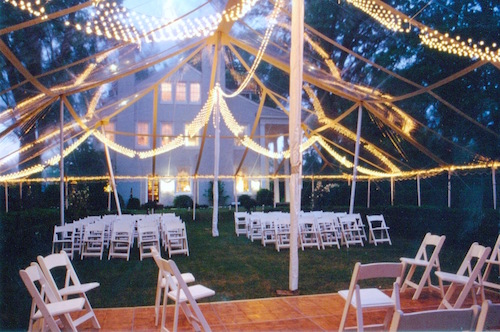 Tents, tables, chairs, linens, dance floors, stages, we got them all and more!